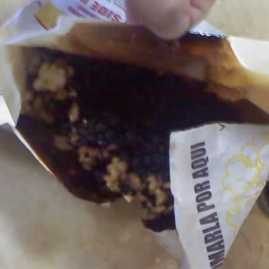 Popcorn Bag Catches Fire
